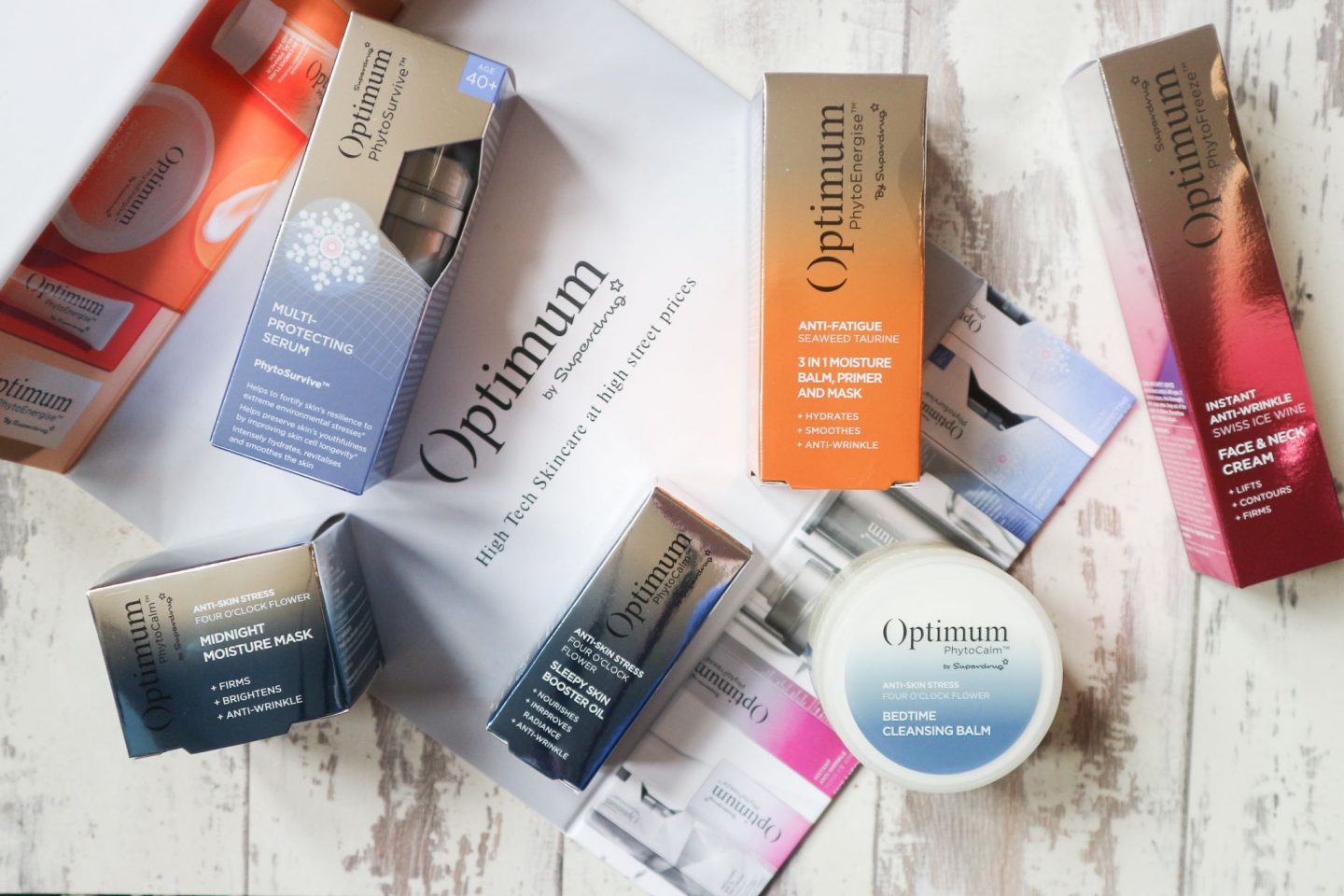 superdrug optimum skincare