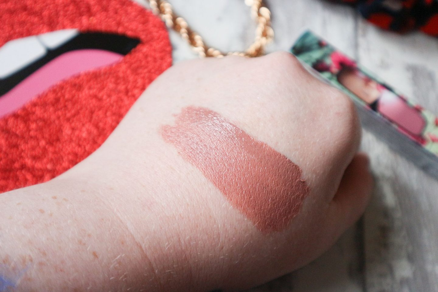 Lipstick Queen Rear View Mirror Lip Lacquer in Little Nude Coupe swatch