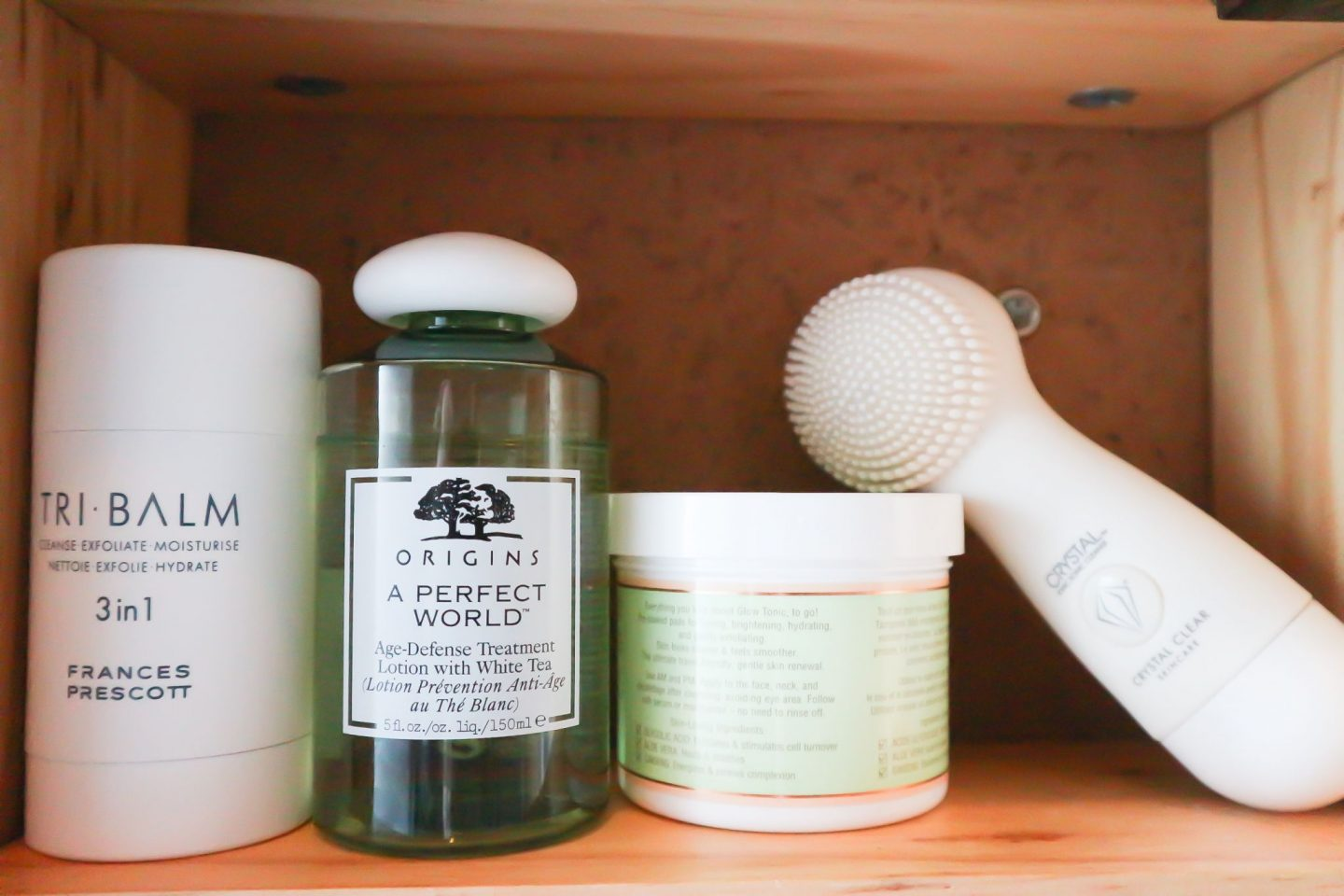 skincare bathroom cabinet