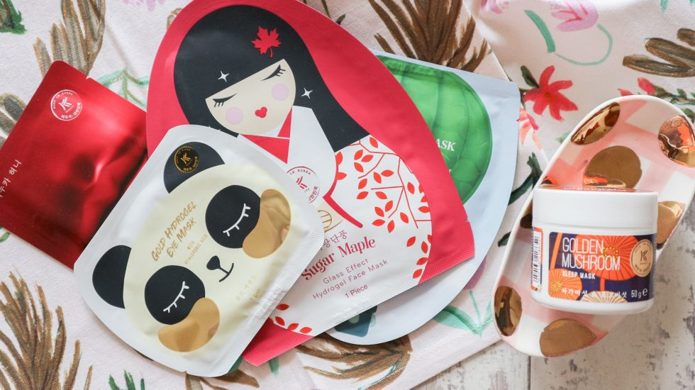 korean beauty face masks