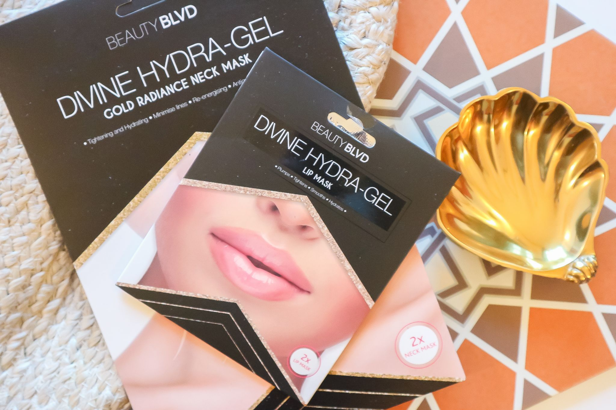 Beauty Boulevard Divine Hydragel Masks