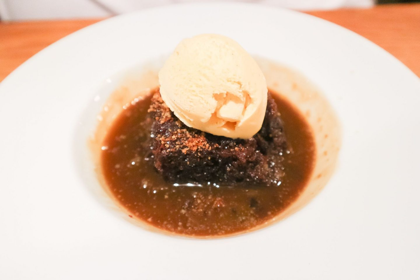 apex glasgow sticky toffee pudding