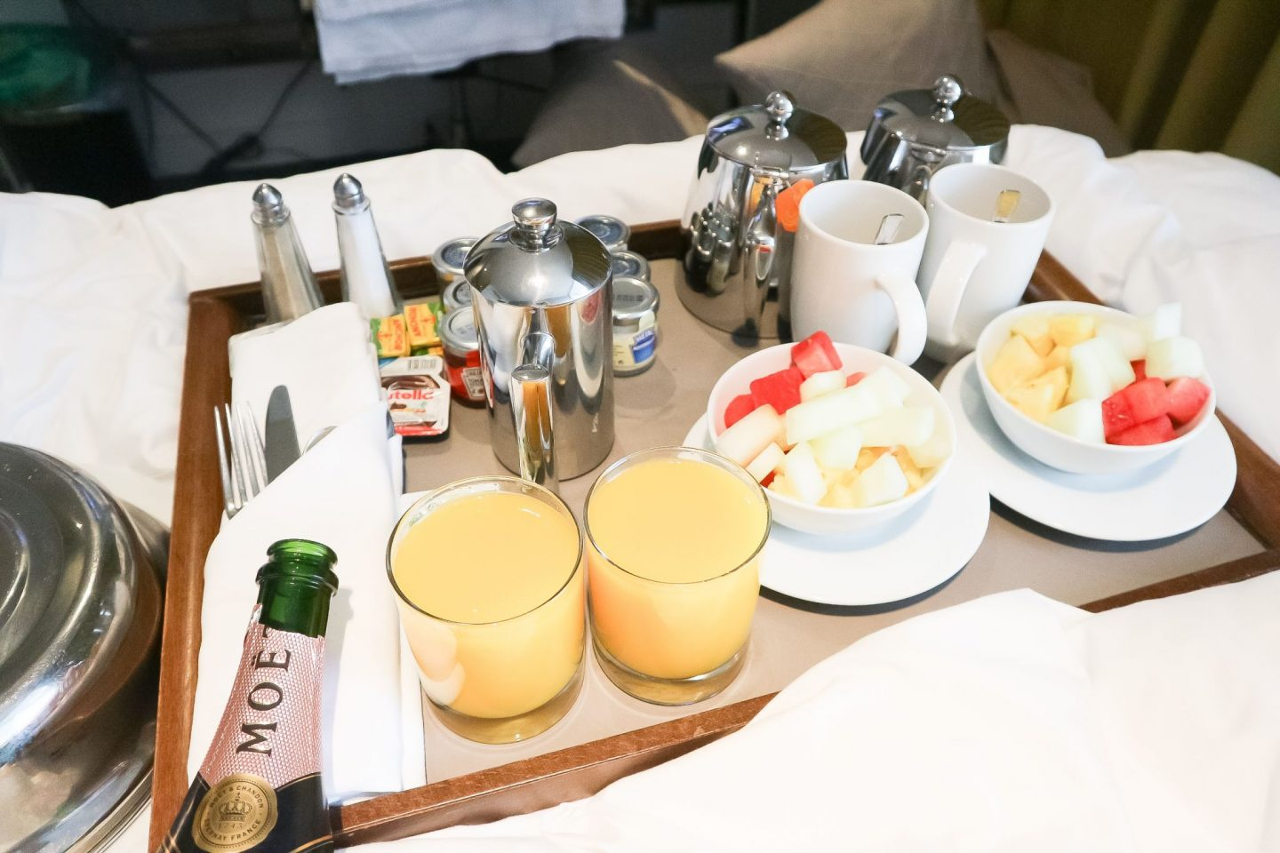 apex glasgow room service breakfast