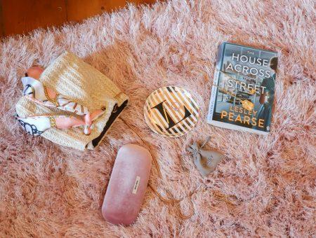 glitzy pink rug