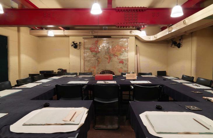 cabinet war room museum