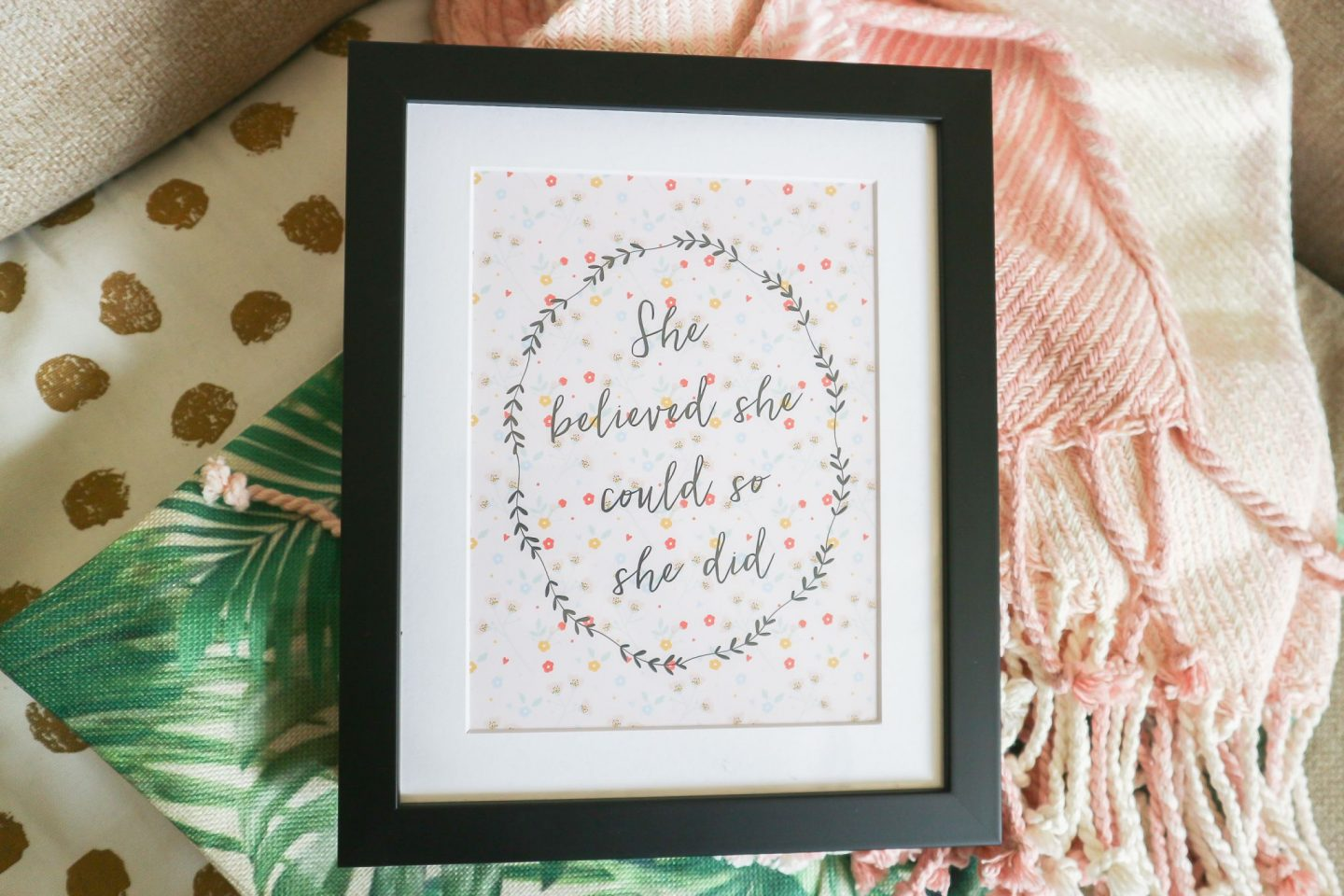 Norma & Dorothy 'She Believed She Could So She Did' Print