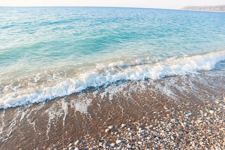 ocean in rhodes
