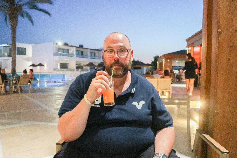 avra beach resort review