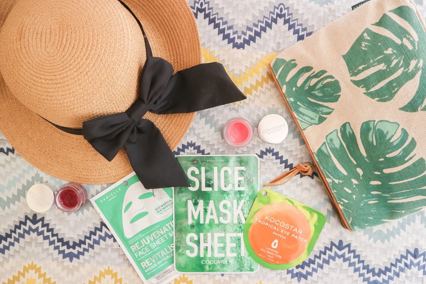 summer vacation skincare