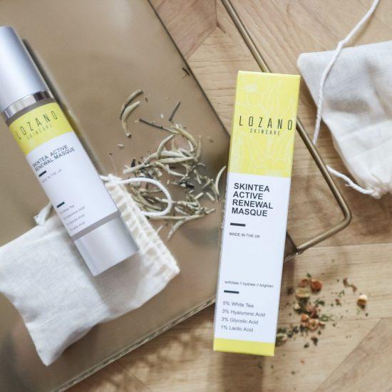 lozano skincare skintea active renewal masque review