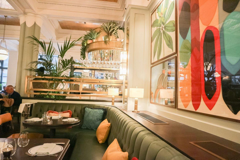 the ivy glasgow decor