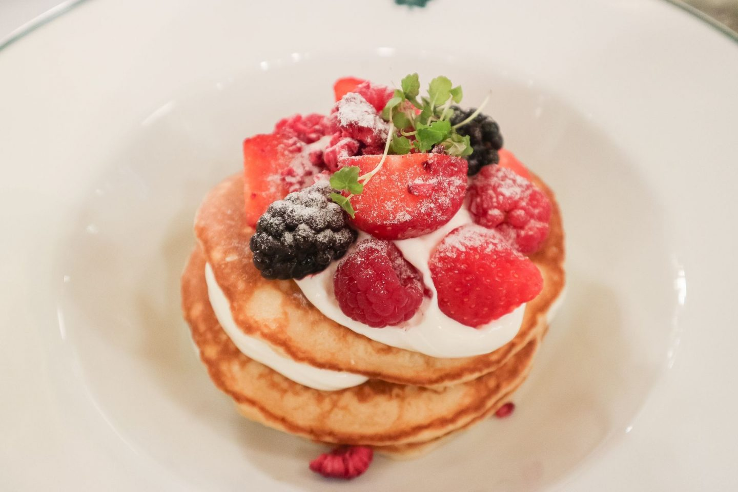 the ivy glasgow buttermilk pancakes
