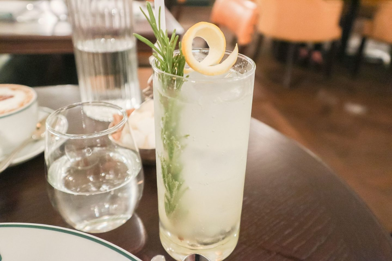 the ivy glasgow rosemary lemonade