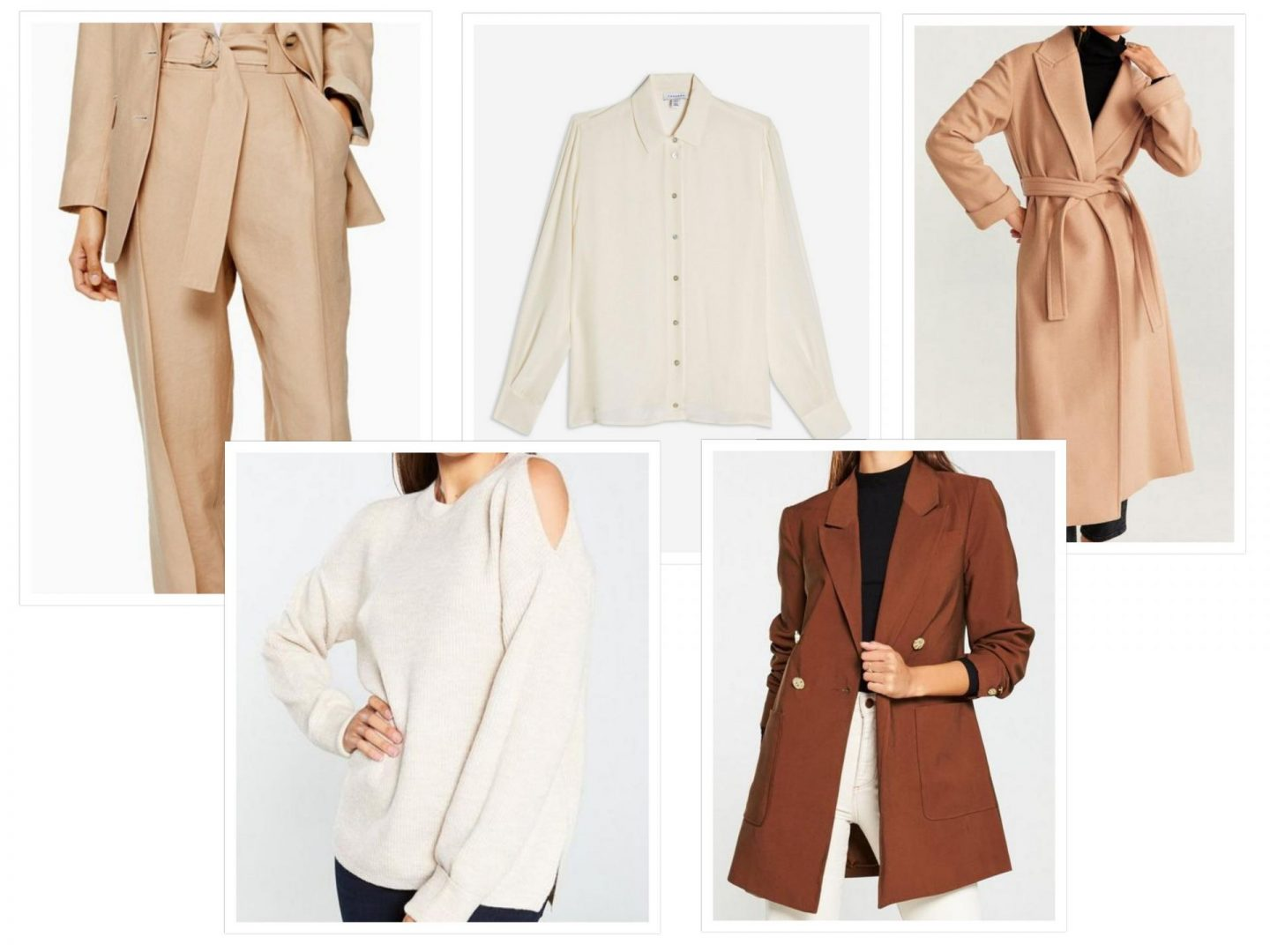 AW19 fashion trends beige