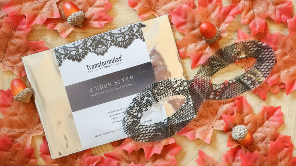 transformulas eight hour sleep mask