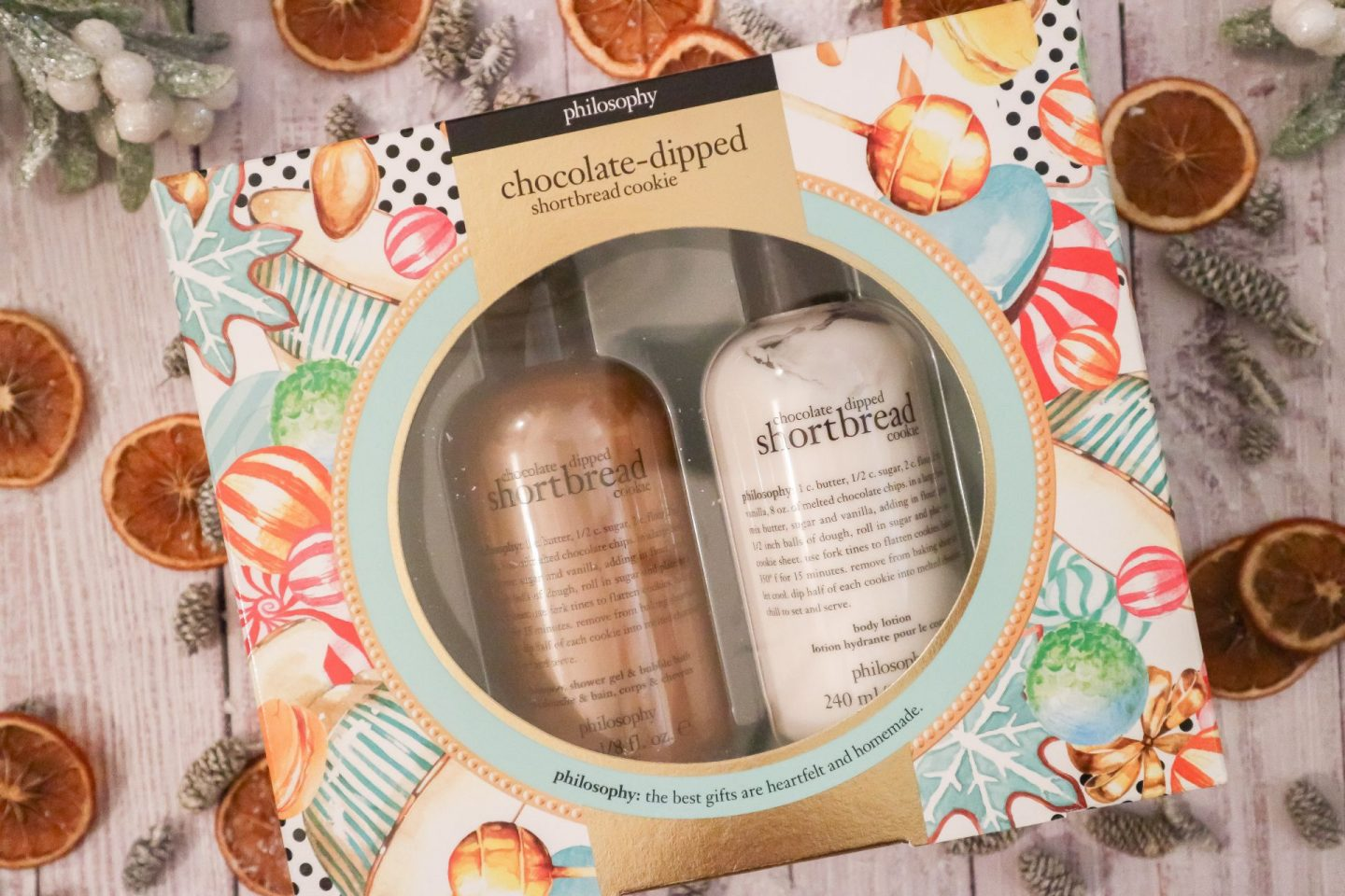 Philosophy Chocolate-Dipped Shortbread Duo