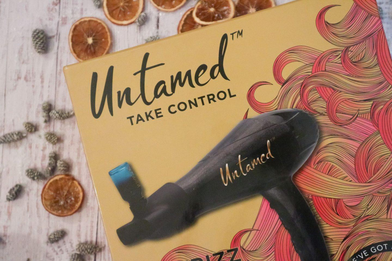 Untamed Defrizz Hairdryer with Argan Oil