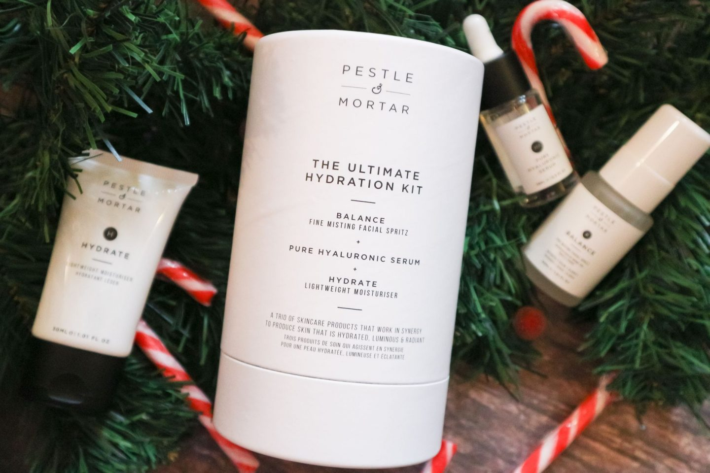 Pestle & Mortar The Ultimate Hydration Kit