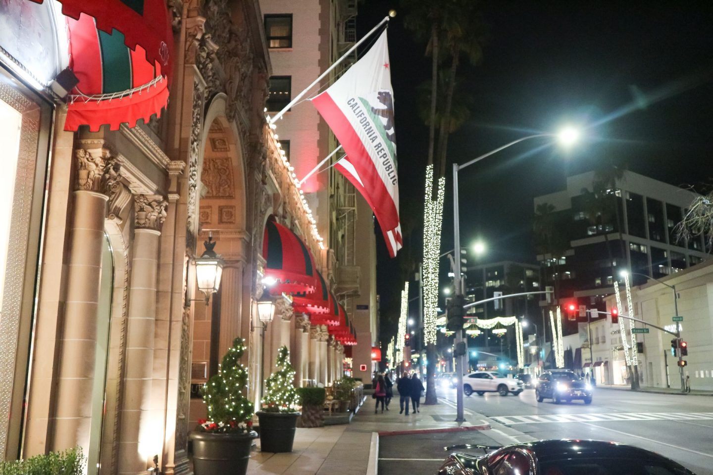 the beverly wilshire exterior