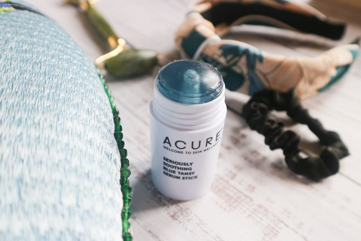Acure Beauty Seriously Soothing Blue Tansy Serum Stick review