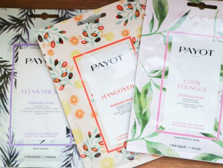 payot morning masks