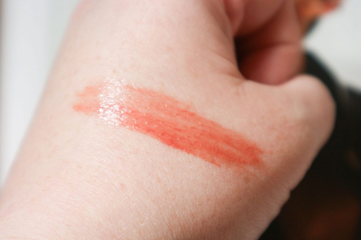 Charlotte Tilbury Collagen Lip Bath in Rosy Glow swatch