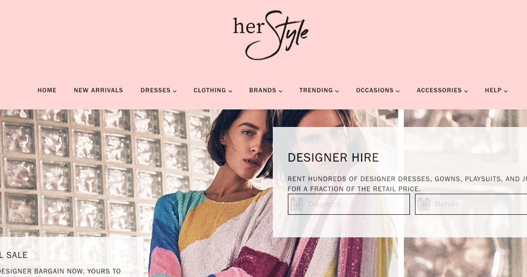Her Style AU fashion rentals