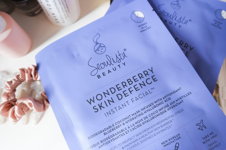 Seoulista Wonderberry Instant Facial review
