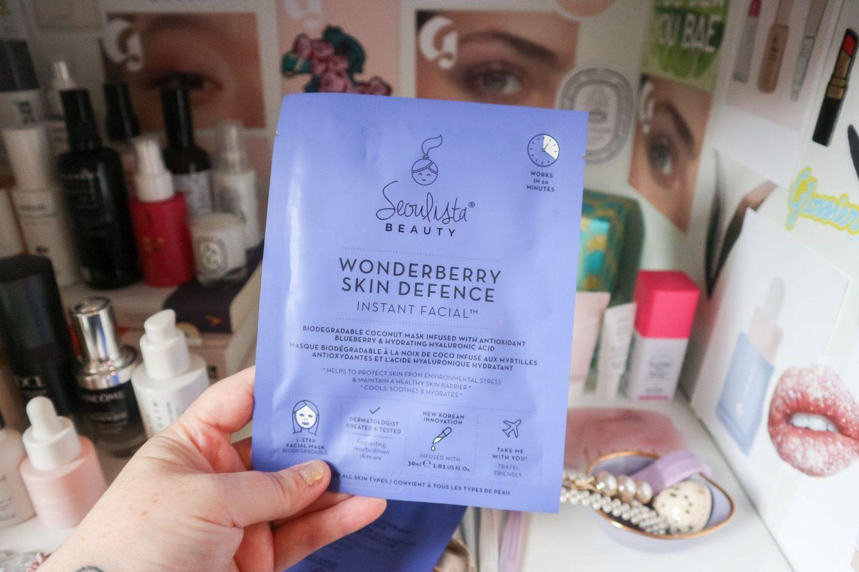 Seoulista Beauty Wonderberry Instant Facial Mask
