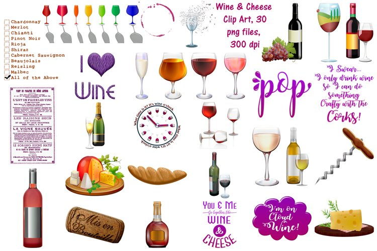 wine graphics