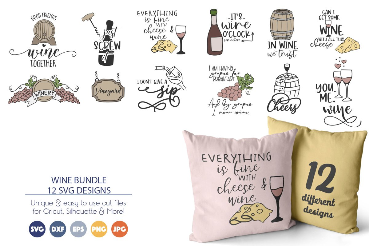 wine graphics