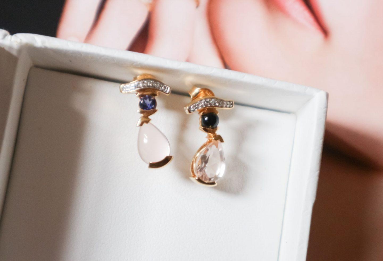 Sacet Belle Egyptian Stud Earrings