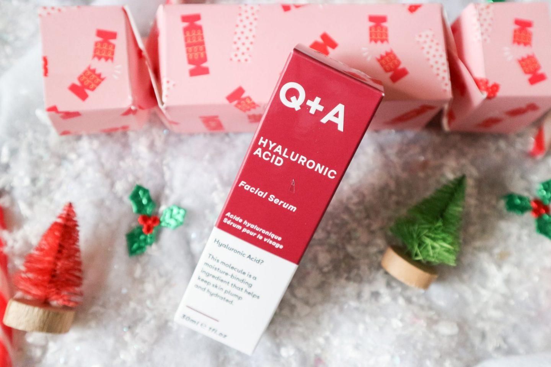 Q+A Skincare Christmas Cracker