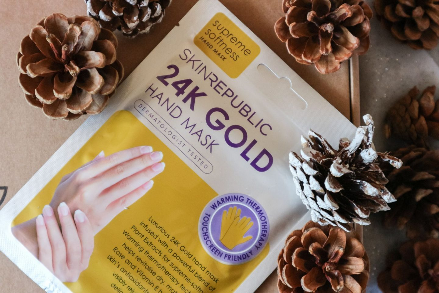 Skin Republic 24K Gold Hand Mask review