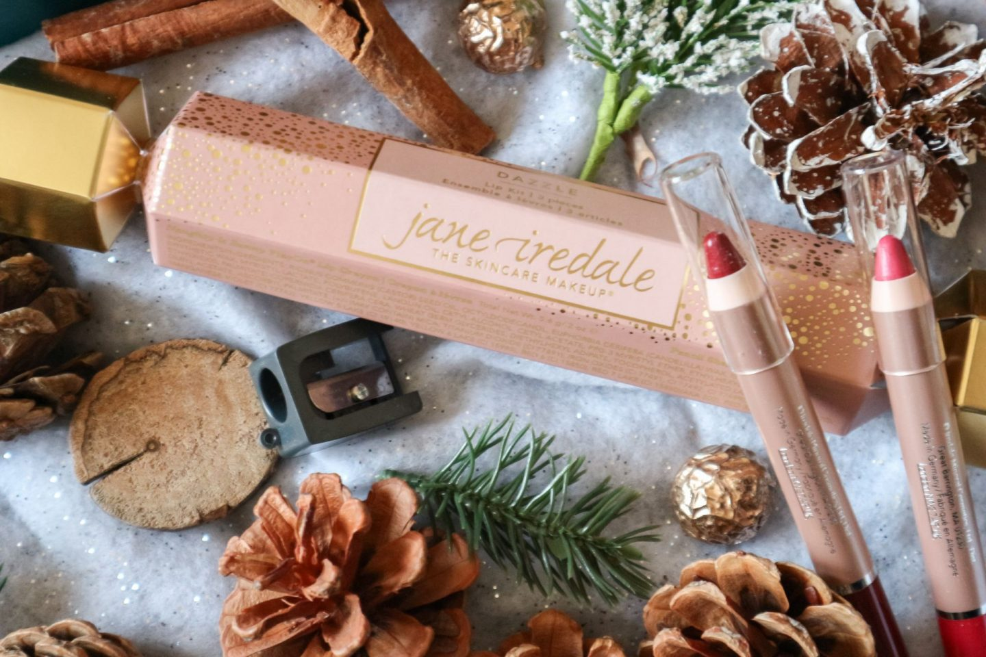 Jane Iredale Dazzle Lip Kit Cracker
