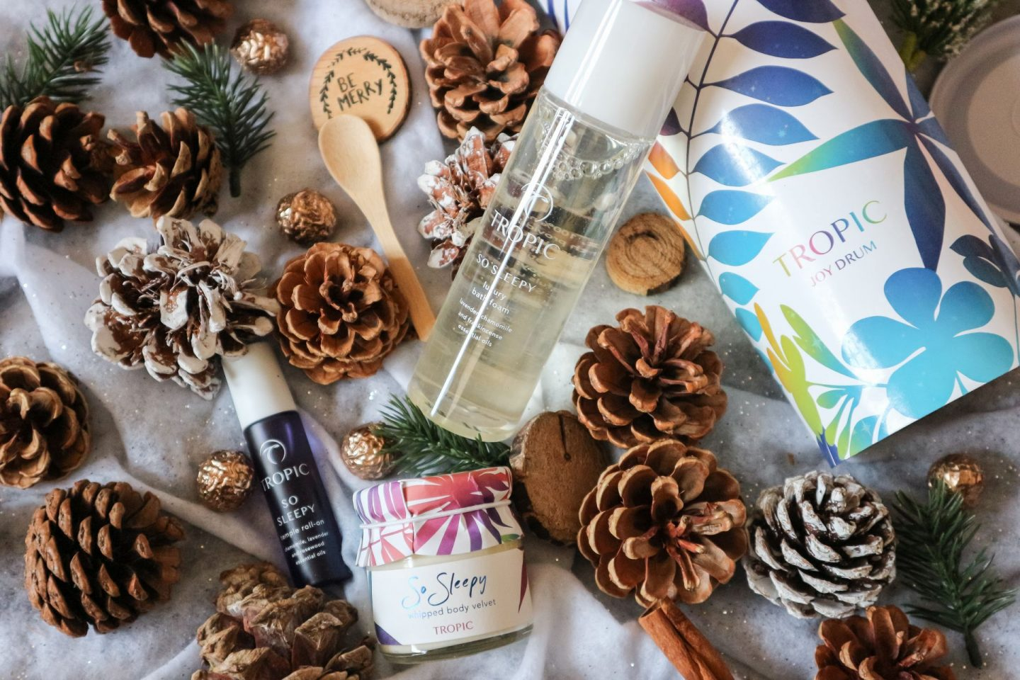 Tropic Skincare Joy Drum: Unwind Me Gift Set