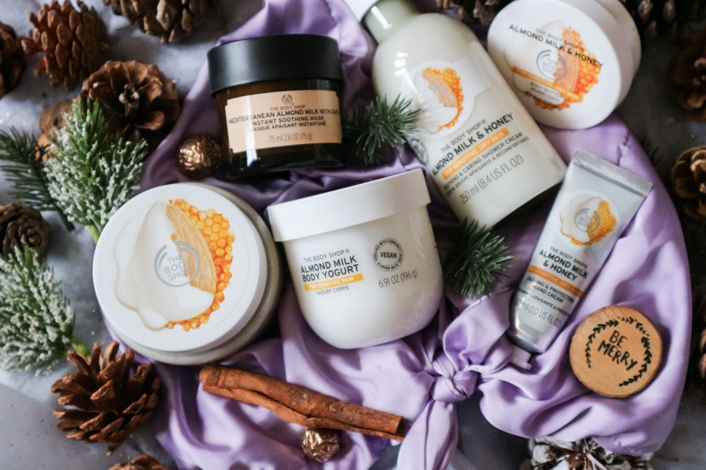 The Body Shop Soothing Almond Milk & Honey Ultimate Gift Bag review