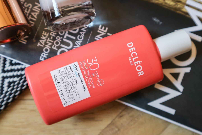 Decléor SPF 30 Aloe Vera Sun Face Fluid