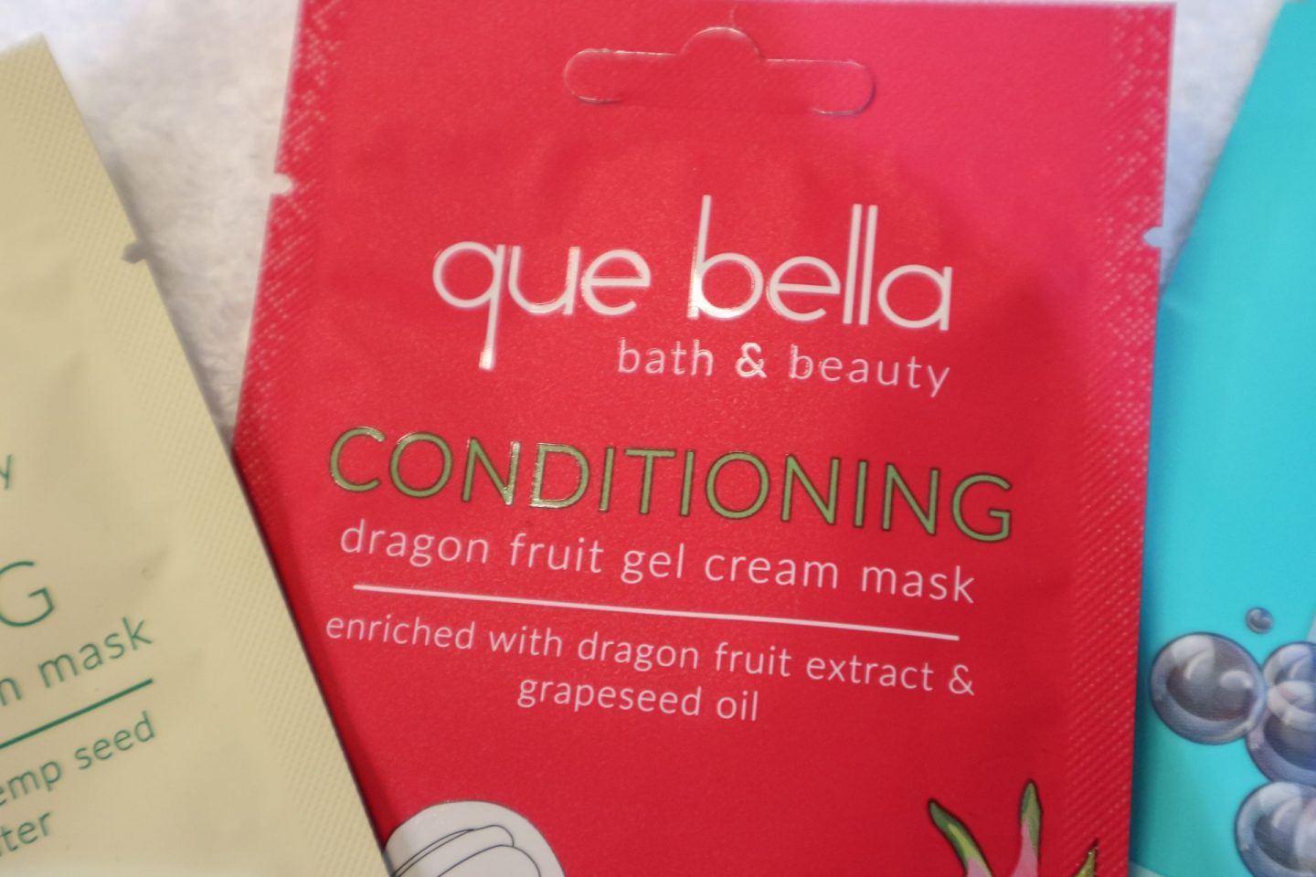Que Bella Conditioning Dragon Fruit Gel Cream Mask review