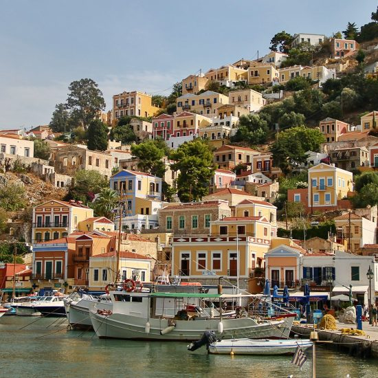 Symi Harbour Greece