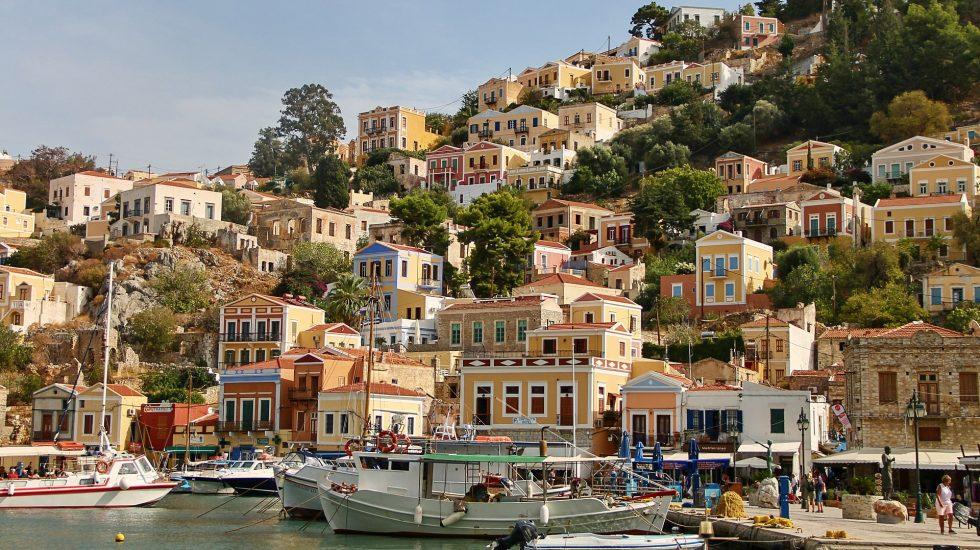 Symi Harbour Greece