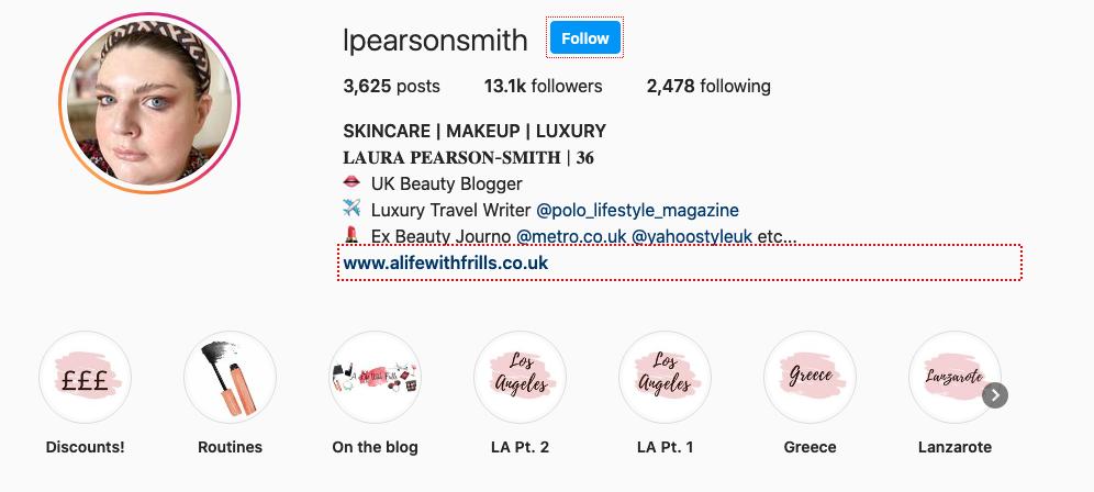 lpearsonsmith Instagram