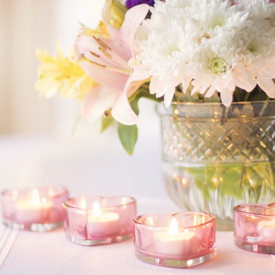romantic party decor