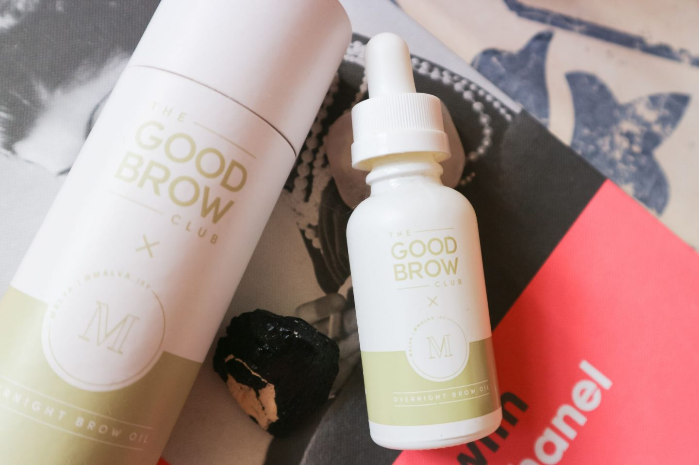 The Good Brow Club Overnight Brow Oil