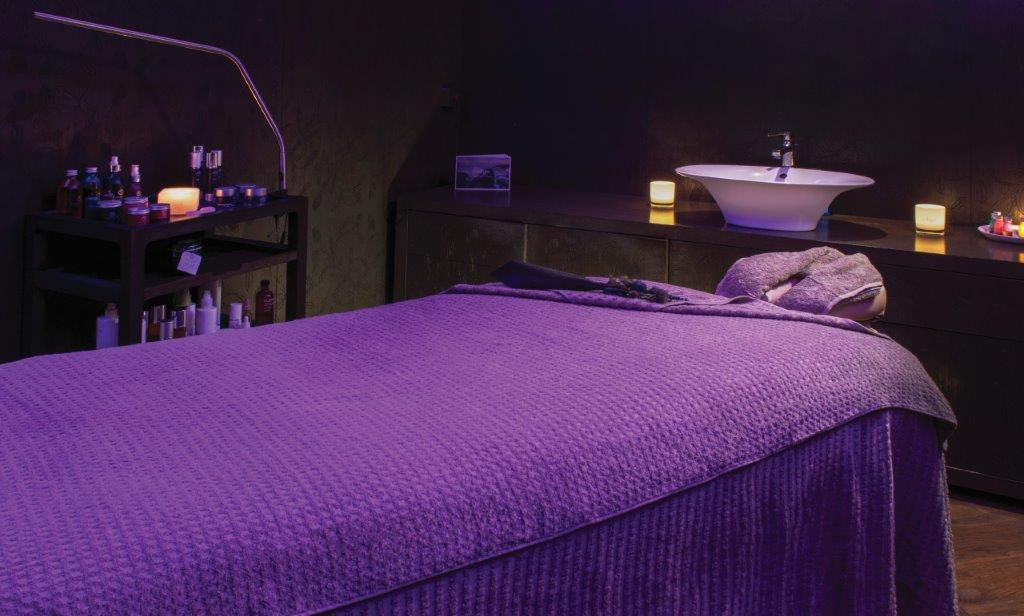 Blythswood Square Spa treatment room