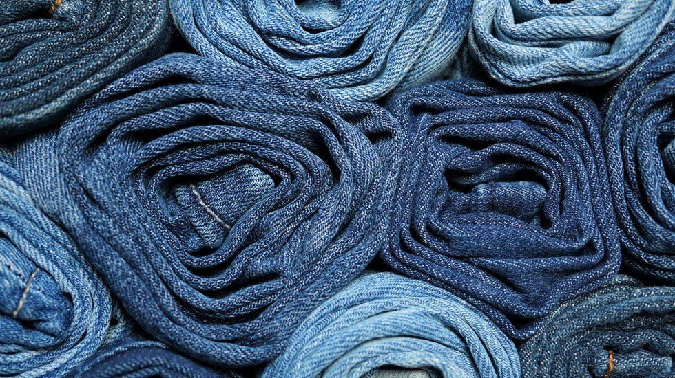 pairs of denim jeans